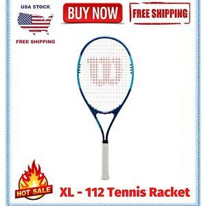 Wilson Ultra Power XL 112 Tennis Racket, Blue - FREE SHIPPING