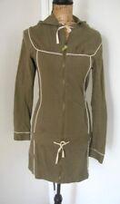 KANABEACH Biologik Natural Hemp/Cotton  Zip Up Hoodie Jacket Coat Size 38 US S
