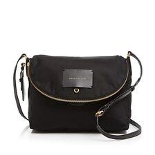 NWT Marc by Marc Jacobs Preppy Legend Natasha Nylon Crossbody Bag BLACK AUTHENTC