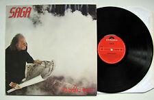 SAGA - WORLDS APART / LP / DE 1981 / POLYDOR 2374 179 / TOP