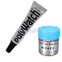 10g HY410 Thermal Grease 5g POLYWATCH Remover Polish Scratches of Watch Plastic