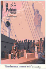The Godfather Part II by Laurent Durieux Variant Mondo Print Poster