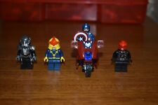 LEGO Super Heroes Captain America Red Skull Nova 76005 Faora 76003 Authentic