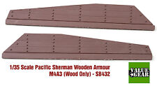 1/35 Pacific Sherman Wood Plank Armor M4A3 Set #2 - Value Gear Stowage SB432