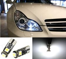 Mercedes ICE White Xenon LED Sidelights Parking Light Bulbs T10 501 W5W