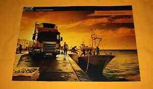 Scania Verteiler 2005 LKW Prospekt Truck Brochure Prospetto Depliant Catalog