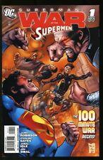 SUPERMAN: WAR OF THE SUPERMEN #0-4 NEAR MINT COMPLETE SET 2010