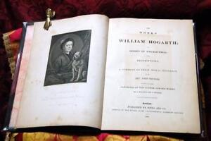 The works of William Hogarth in a series of engravings: with descriptions and...
