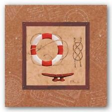 NAUTICAL ART PRINT Newport III Paul Brent