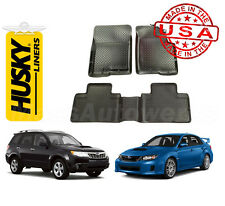 Husky Liners Floor Liners 1st & 2nd Row 08-2014 WRX / 08-2011 Impreza & More!
