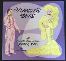 "Danny's Boys Paper Doll Book ""Murry Lynn Manloe"" Gay-Drag Queen Tom Tierney"