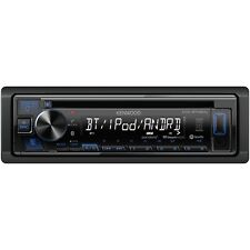 KENWOOD Single-DIN In-Dash CD Receiver with Bluetooth & SiriusXM Ready