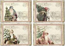 Decoupage-Serviettentechnik-Softpapier-Vintage-Nostalgie-Weihnachten-12248