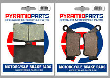 Husqvarna SM 570 R 2001 Front & Rear Brake Pads Full Set (2 Pairs)