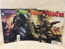 PREDATOR Dark Horse Comics 2009 ARCUDI SALTARES Complete Set of 4 issues