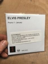 Elvis Presley CD Promo 1 January 6 Trk Sampler 18 UK No.1 Singles 2005 BMG Rare!