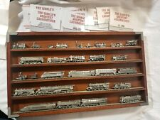 The World Greatest Locomotives Set With Display Shelf