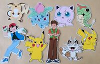 Pokemon Selection Card Making Toppers - Die Cuts 9 Pieces Embellishments
