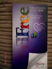 SLIMMING WORLD FREE BRANDED FOOD 2013 RED GREEN & EXTRA EASY SYNS EX CON