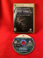Peter Jackson's King Kong Official Game Xbox 360 NO MANUAL USA Cleaned Working