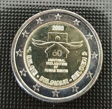 Belgien 2 Euro Gedenkmünze Sondermünzen 2008 ST 60 Jahre Menschenrechte