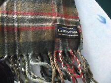LOCHCARRON scotland -  fine new wool tartan scarf