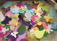 500+ Assorted die cuts/punchies lot scrapbook, DIY cardstock new using martha EK