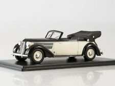 1:43 Audi 920 Cabriolet Glaser White/Black NEO47085 Neo Scale Models