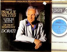 LONDON 1981 DIGITAL Dvorak DORATI Prague Waltzes/Czech Suite LDR-71024 NM