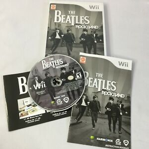 The Beatles RockBand Nintendo Wii 2007 Game Only Complete Video Games