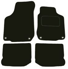 Tailored Deluxe Quality Car Mats Vw Bora 1998-2005 ** Black ** Saloon Estate
