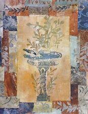Krista Sheldon Fontana di Pompeii Poster Kunstdruck Bild 35x28cm - Portofrei