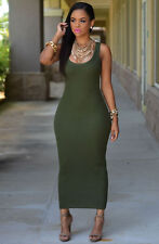 Sexy Women's Summer Bandage Bodycon Evening Party Cocktail Maxi Long Dress AG L