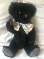 Deans 250 Carnival Bears Black collectors bear Limited Edition No. 127 /250