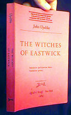 1984 JOHN UPDIKE WITCHES OF EASTWICK UNCORRECTED PROOF
