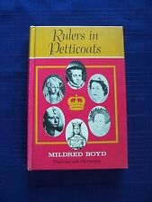 Women Rule! Rulers in Petticoats by Mildred Boyd 1967 Hardcover Book VERY COOL!