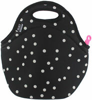 Built NY Gourmet Getaway Reusable Insulated Neoprene Lunch Tote, Splatter Dots