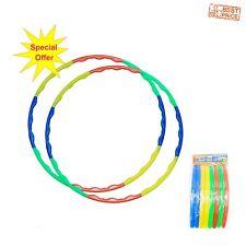 Childrens Indoor Outdoor Fitness Gymnastic Toy Collapsible Hula Hoop Wavy Hoop