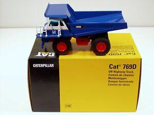 "Caterpillar 769D Dump Truck - ""QUAKERNACK"" - 1/50 - NZG #477 - MIB"