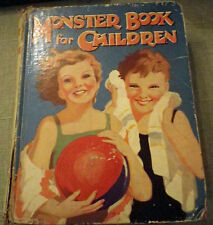 Monster Book for Children - Dean & Son - Circa 1951 - Hardcover