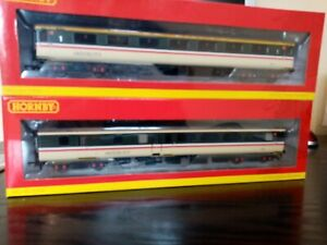 Hornby Mk2 coaches x2 executive BR grey New