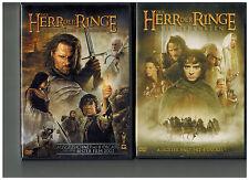 3 x DVD Herr der Ringe Trilogie Doppel DVD`s ,Sehr gut ,FSK 12