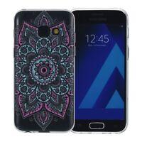 Samsung Galaxy S7 Étui Coque pour Portable Sac de Protection Housse Henné Coloré