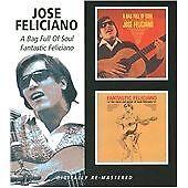 José Feliciano - A Bag Full of Soul/Fantastic Feliciano (2008) CD NEW SPEEDYPOST