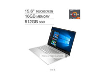 "New listing Hp Pavilion 15.6"" Touchscreen Laptop - Amd Ryzen 7 4700U - 1080p"
