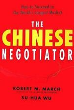 The Chinese Negotiator: How to Succeed in the World's Largest Market-ExLibrary