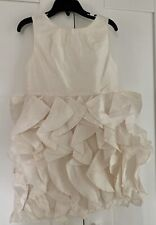 J.Crew Crewcuts $188 Girls Silk Lyla Dress NWT 12 wedding party ivory 43902