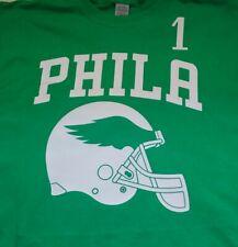 Philadelphia eagles helmet football 1 jalen tshirt t shirt gym bar tshirt