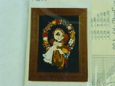 Lavender & Lace Counted Cross Stitch Chart Pattern Lady Of The Thread