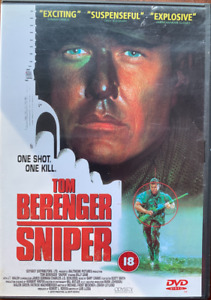 Sniper DVD 1993 Action War Film Movie with Tom Berenger and Billy Zane